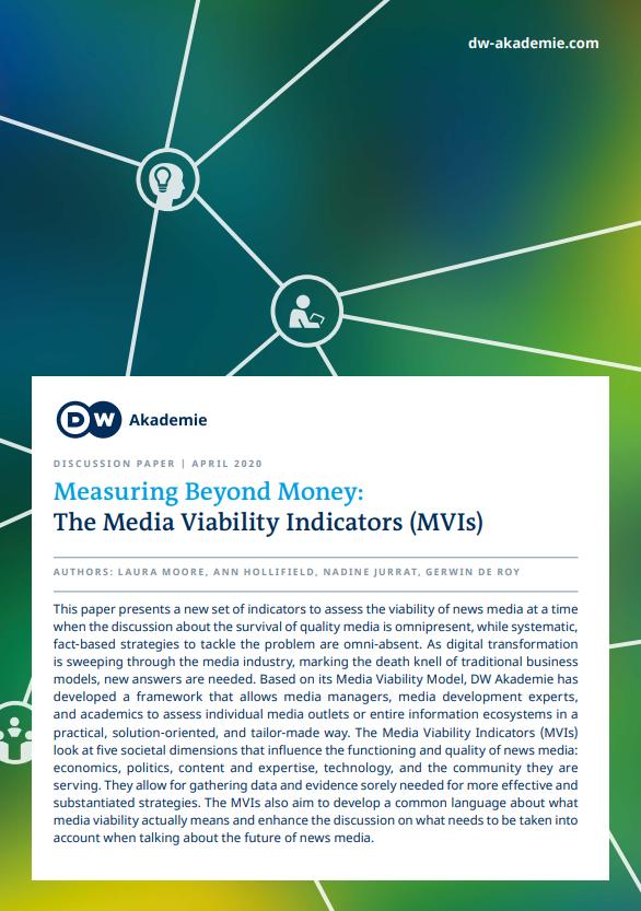 Measuring beyond money: The Media Viability Indicators (MVIs)